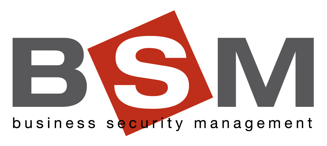 BSM Business Security Management Logo