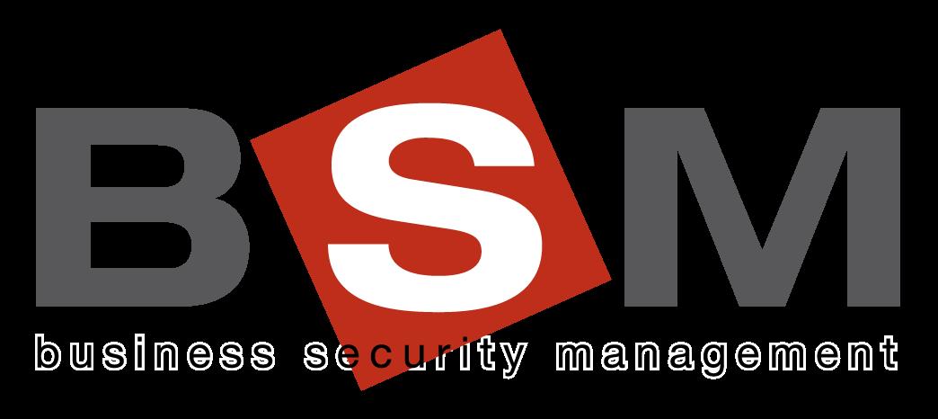 BSM Business Security Management Logo